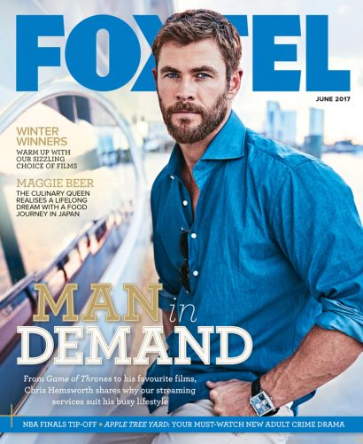 Christian Hemsworth - styling by Howard Steeves
