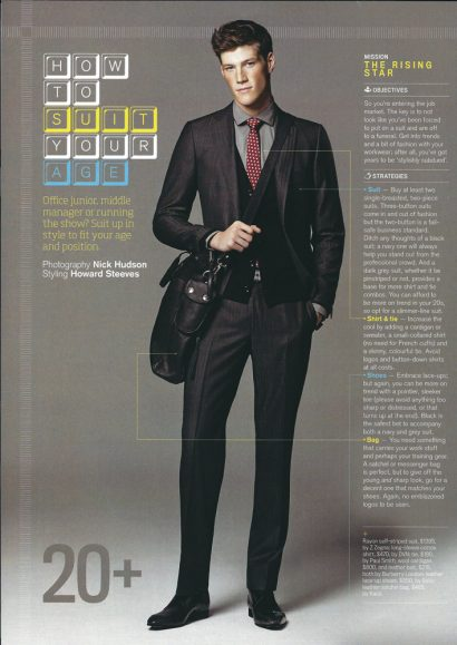 GQ Age styling by Howard Steves