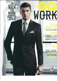 GQ Back to Work - Styling by Howard Steeves
