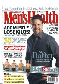 Mens Health Pat Rafter - styling by Howard Steeves