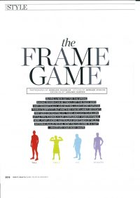 MH Frame Game - styling by Howard Steeves